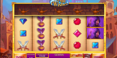 Wild Wishes von Playtech